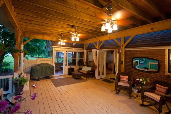 Country Style Back Porch